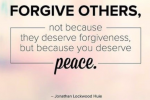 Forgive Others for Peace