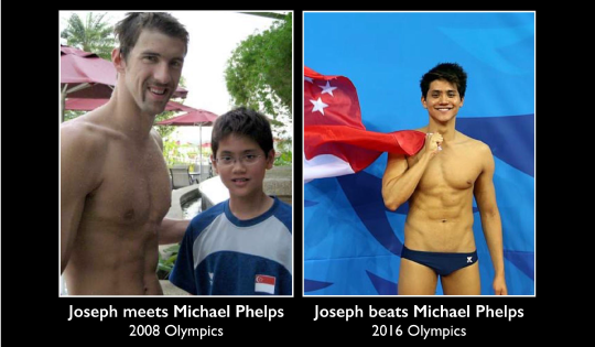 Joseph and Michael At Swimming Competition