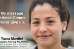Yusra Mardini: Athlete Of The Very First Olympic Refugee Squad