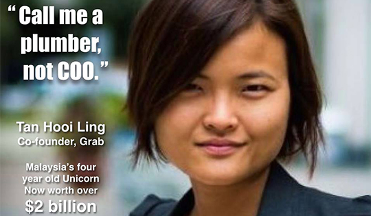 Tan Hooi Ling: Founder of Grab Taxi Services